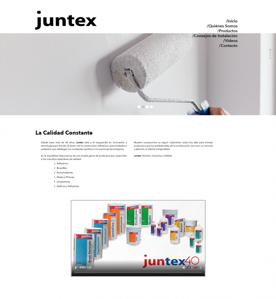 Juntex Home Page