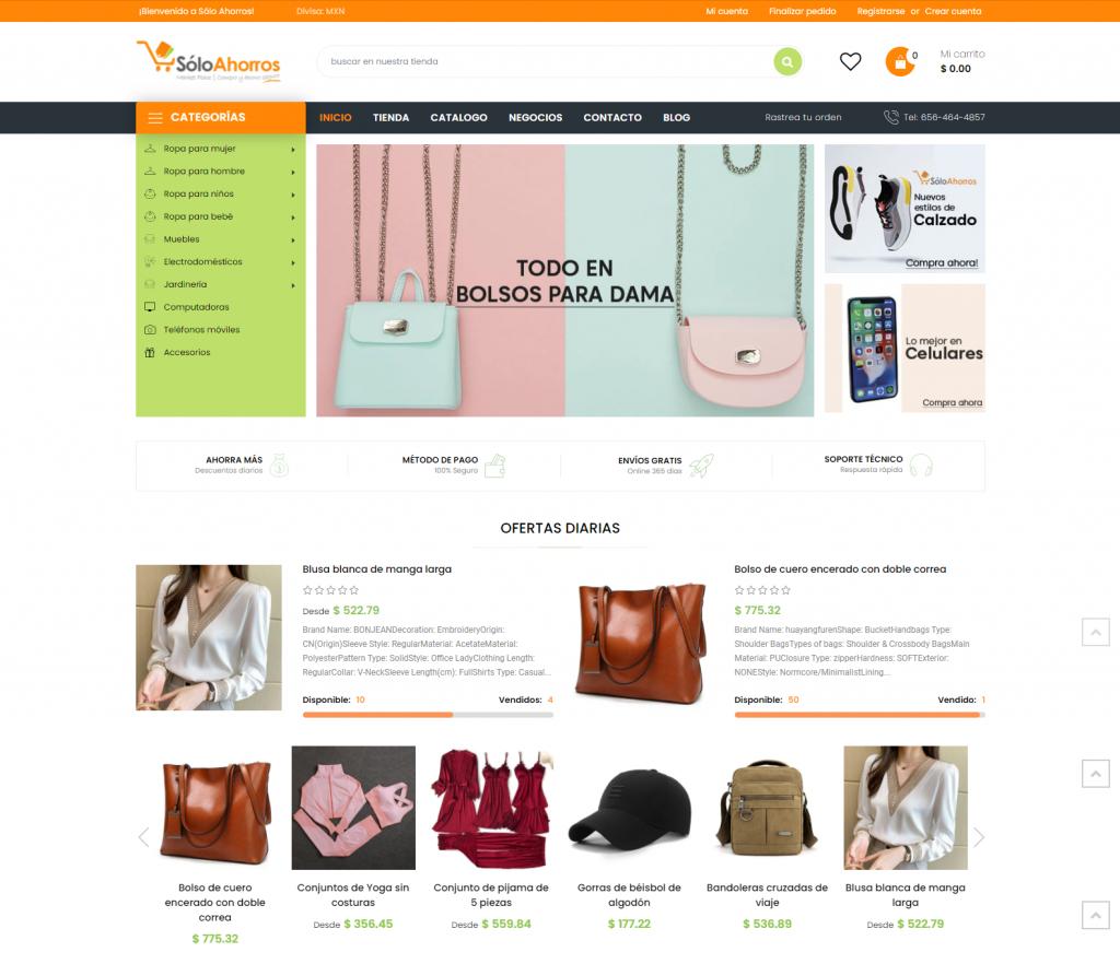 SoloAhorros Website